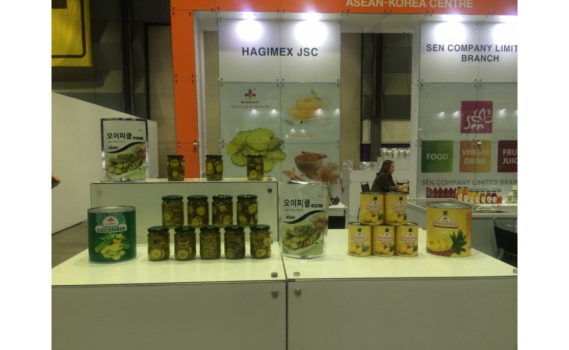 HAGIMEX attends Asean Trade Fair 2017 in Seoul, Korea