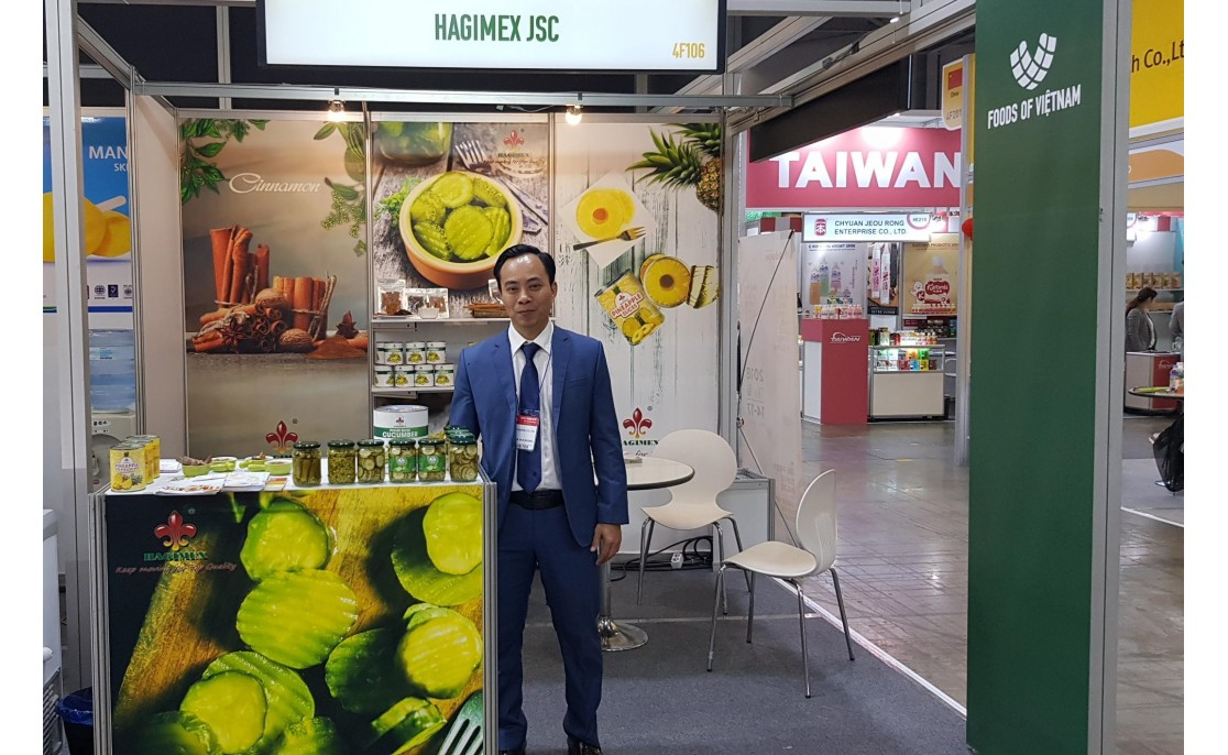 HAGIMEX ATTENDS IN SEOUL FOOD 2018, KOREA FROM 01 MAY TO 04 MAY, 2018