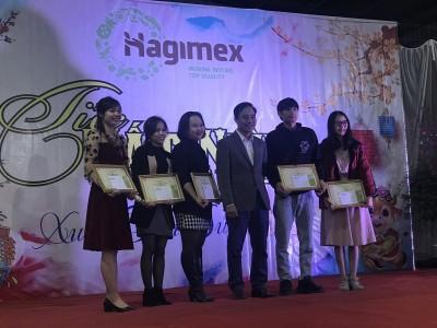 Award excellent staff 2020